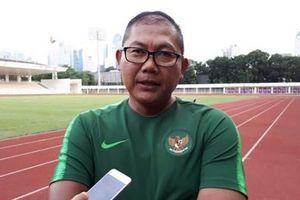 Trưởng đoàn Indonesia: 'Tôi chỉ muốn 1 điểm từ Việt Nam mà không thể'