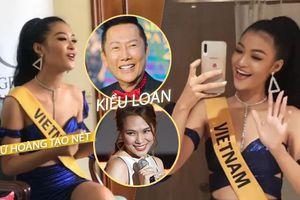 Chủ tịch Miss Grand thích thú khoe clip Kiều Loan hát hit Mỹ Tâm: 'Nữ hoàng tạo nét' lại ghi điểm?