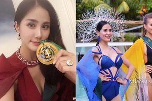 Chiến thuật thời trang thông minh giúp Hoàng Hạnh giành huy chương vàng phần thi Resort Wear