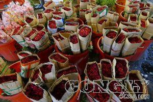 TPHCM: Trước thềm 20/10, chợ hoa Hồ Thị Kỷ ế ấm, sức mua giảm mạnh