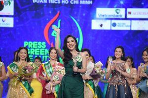 Phạm Ngọc Hà My trở thành Hoa khôi Press Green Beauty 2019