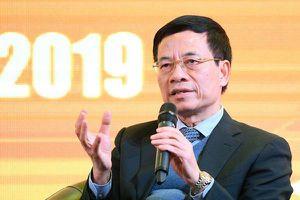 Bộ trưởng Nguyễn Mạnh Hùng: 'Doanh nghiệp có thể đề xuất thí điểm Sandbox thông qua Bộ TT&TT'