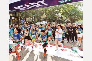 Quảng bá hình ảnh Thủ đô qua giải chạy ma-ra-tông quốc tế