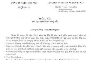 Vụ tranh chấp doanh nghiệp ở Hà Nội bị làm phức tạp
