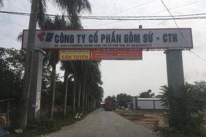 Vụ nước sạch sông Đà bị nhiễm bẩn: Thủ kho công ty gốm sứ Thanh Hà cung cấp dầu thải cho các nghi phạm