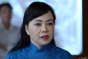 Bà Nguyễn Thị Kim Tiến trải lòng bên hành lang Quốc hội