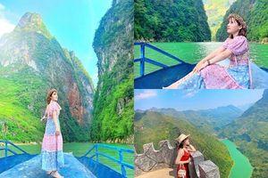 Đừng đến Hà Giang chỉ vì lúa chín và tam giác mạch bởi còn có trải nghiệm đi thuyền trên sông Nho Quế đầy vi diệu