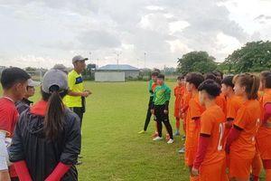 HLV trưởng Ijiri Akira chốt danh sách sang Thái Lan tham dự VCK U.19 nữ châu Á 2019