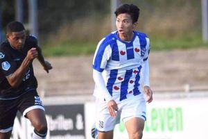 HLV Heerenveen hé lộ lý do Văn Hậu bị 'bỏ quên'