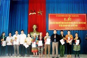 Nhiều người dân di cư tự do được nhập tịch Việt Nam