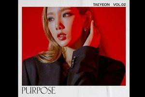 Cập nhật màn comeback của Taeyeon (SNSD): Toàn bộ time-line dự án PURPOSE chính thức được công bố