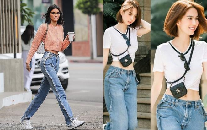 Ngọc Trinh diện chiếc quần jeans trước sau như một, vòng 3 biến mất hoàn toàn