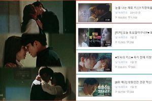 Cảnh hôn nóng bỏng của Ji Chang Wook - Yoon Se Ah đạt lượt view cao nhất 'Nhẹ nhàng tan chảy'