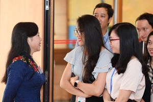 Bộ trưởng Nguyễn Thị Kim Tiến: 'Đây có thể là kỳ họp cuối cùng tôi gặp các nhà báo ở Quốc hội'