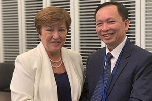 Đề nghị IMF ủng hộ Việt Nam trong tái cơ cấu nền kinh tế
