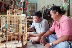 Nghệ nhân làm lồng chim nổi tiếng ở Biên Hòa