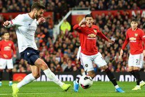 Man Utd – Liverpool bất phân thắng bại
