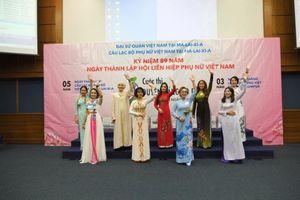 Lần đầu tiên tổ chức cuộc thi áo dài tại Malaysia và Lào