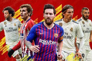 Cập nhật bảng xếp hạng La Liga mới nhất (ngày 21/10)