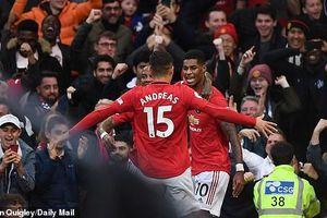 Rashford lập công, MU chặn đứng chuỗi toàn thắng của Liverpool