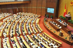 Quốc hội nghe báo cáo về dự thảo nghị quyết xử lý tiền nợ thuế, tiền phạt chậm nộp