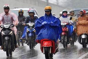Gió mùa Đông Bắc gây mưa to ở Bắc và Trung Bộ