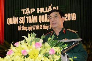 Bộ Tổng Tham mưu khai mạc tập huấn cán bộ quân sự toàn quân năm 2019