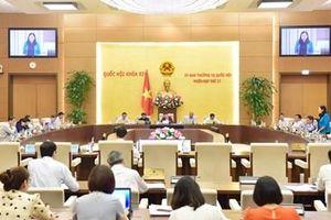 Ủy ban Thường vụ Quốc hội ban hành 6 Nghị quyết về nhân sự, điều chỉnh kế hoạch đầu tư trung hạn