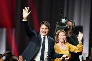 Đảng Tự do của Thủ tướng Justin Trudeau giành chiến thắng