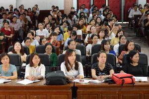 Tập huấn, bồi dưỡng cho 366 giáo viên tiểu học cốt cán 2 tỉnh miền Trung