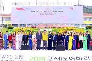 Triển lãm Nông nghiệp Quốc tế và Ngày Việt Nam tại Hàn Quốc 2019