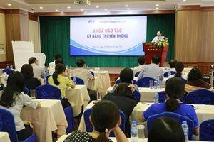 Bảo hiểm tiền gửi Việt Nam tổ chức đào tạo Kỹ năng truyền thông