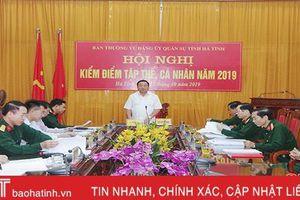 Đảng ủy Quân sự Hà Tĩnh phát huy tinh thần tự soi, tự sửa, lãnh đạo theo hướng sâu sát cơ sở