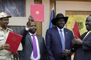 Sudan: Chính phủ và phe đối lập ký tuyên bố hòa bình lịch sử