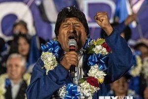 Ông Morales có thể tái đắc cử Tổng thống Bolivia ngay tại vòng 1