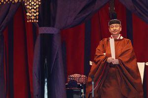 Nhật hoàng Naruhito chính thức tuyên bố đăng quang