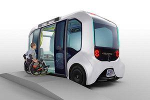 Hé lộ về Toyota E-Palette phiên bản dành riêng cho Olympic và Paralympic 2020
