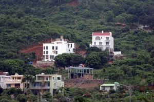 Yêu cầu dừng thi công dự án xẻ núi làm biệt thự tại Nha Trang