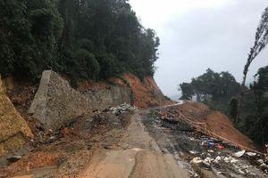 Lâm Đồng: Đường 80 tỷ ở huyện Đạ Tẻh chưa bàn giao đã sụt lún nghiêm trọng
