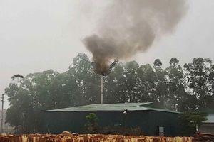 Lộ diện 2 công ty hoạt động chui, xả khói thải gây ô nhiễm ở Bắc Giang