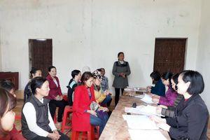 Hội LHPN tỉnh Nam Định xây dựng 83 mô hình 'Dân vận khéo'