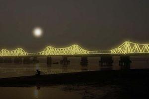 Cây cầu hơn 100 năm tuổi được 'xây' lại bằng... ánh sáng