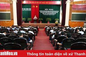 Tập huấn thực hiện Luật Quy hoạch, hướng dẫn lập Quy hoạch tỉnh Thanh Hóa 2021 - 2030