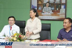 Bệnh viện Gia An 115 đón tiếp bà Men Sam An – Phó Thủ tướng Chính phủ Hoàng gia Campuchia, Bộ Trưởng quan hệ Quốc Hội, Thượng Viện và Thanh tra Campuchia đến tham quan