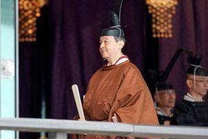 Nhật hoàng Naruhito chính thức đăng quang với cam kết mang tính biểu tượng