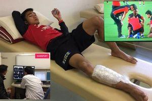 'Messi Thái Lan' phải chụp cộng hưởng từ 10 lần trong 5 tháng qua