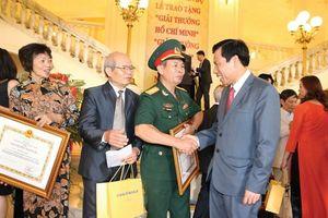 Khởi động xét tặng Giải thưởng Hồ Chí Minh, Giải thưởng Nhà nước về VHNT năm 2021