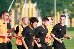 Đội U19 của nhà vô địch Bosnia sẵn sàng đấu U19 Việt Nam