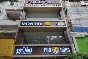 Cảnh tan hoang, đổ nát tại các nhà hàng Món Huế, Phở Ông Hùng ở Hà Nội