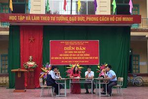 Đoàn trường THPT Hà Lang: Tổ chức ngoại khóa 'diễn đàn xây dựng tình bạn đẹp, nói không với bạo lực học đường'